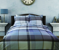 Plaid 450 Linen Set