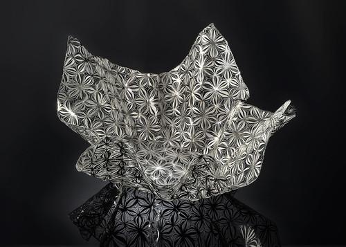 Metalace Flower Shades Bowl