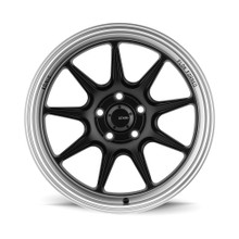 KONIG COUNTERGRAM 18X8.5 5x114.3 +43 MATTE BLACK / MATTE MACHINED LIP