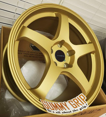 Rosenstein CR 18X9.5 5X114.3 +38 - Gold