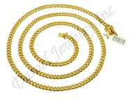 5mm Miami Cuban Link 10k Chain