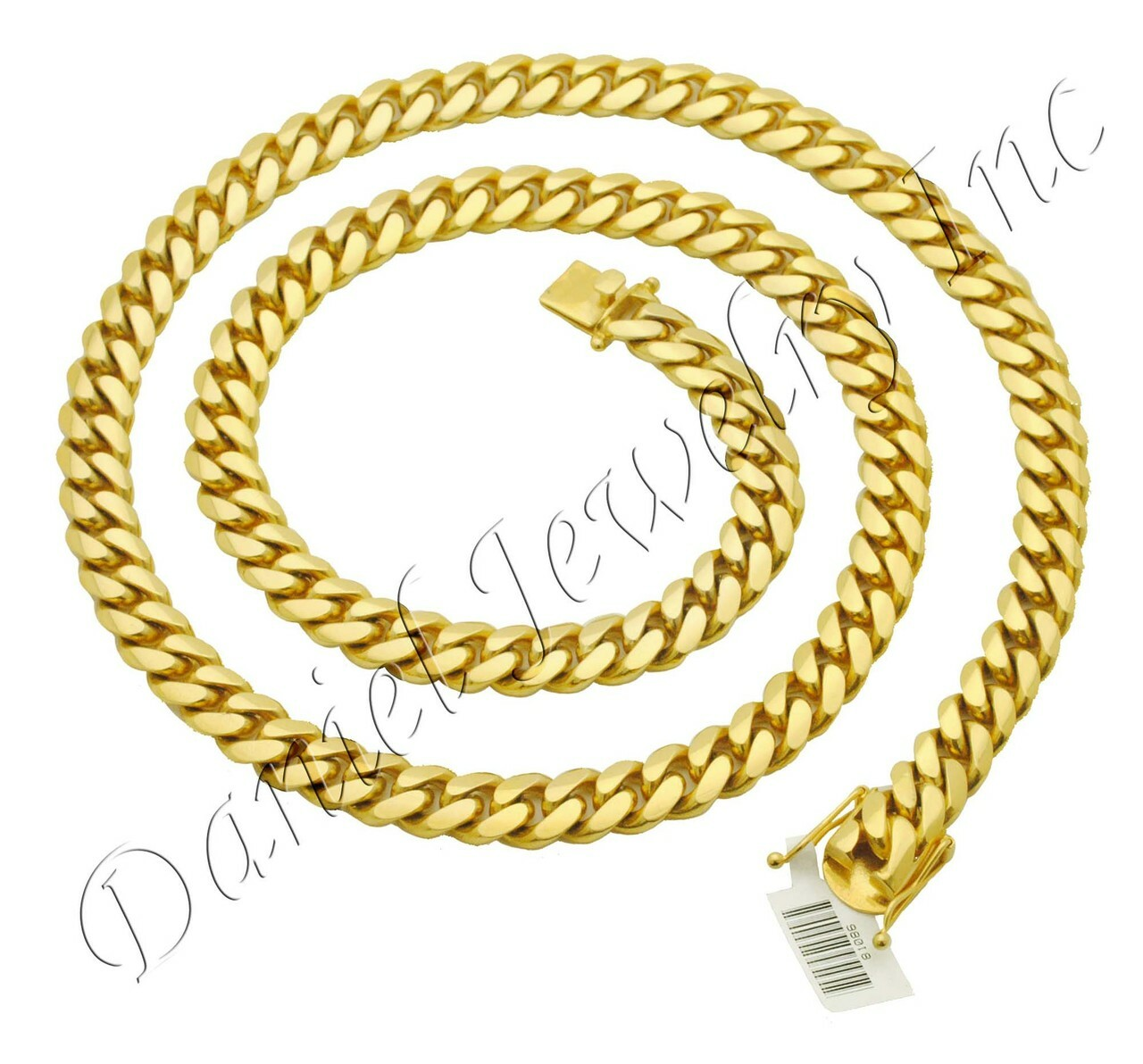 Cuban Link Chain For Sale >> 10mm Miami Cuban Link 14k Chain