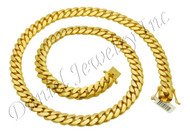 13mm Miami Cuban Link 18k Chain