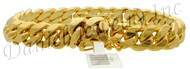 11mm Miami Cuban Link 18k Solid Bracelet