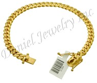 6mm Miami Cuban Link 10k Bracelet