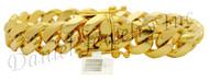 15mm Miami Cuban Link 18k Bracelet