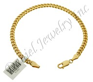 4mm Miami Cuban Link 14k Bracelet
