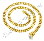 11mm Miami Cuban Link 18k Chain