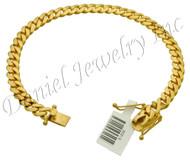 6mm Miami Cuban Link 18k Solid Bracelet