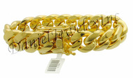 20mm Miami Cuban Link 18k Bracelet