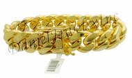 20mm Miami Cuban Link 18k Bracelet