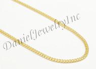 3mm Miami Cuban Link 14k Chain