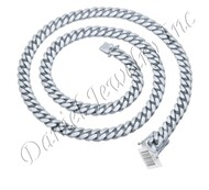 10mm Miami Cuban Link .925 Silver Chain