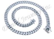 12mm Miami Cuban Link .925 Silver Chain