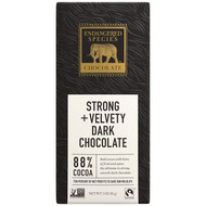 Endangered Species Fair Trade Dark Chocolate Panther Bar 88% Cocoa