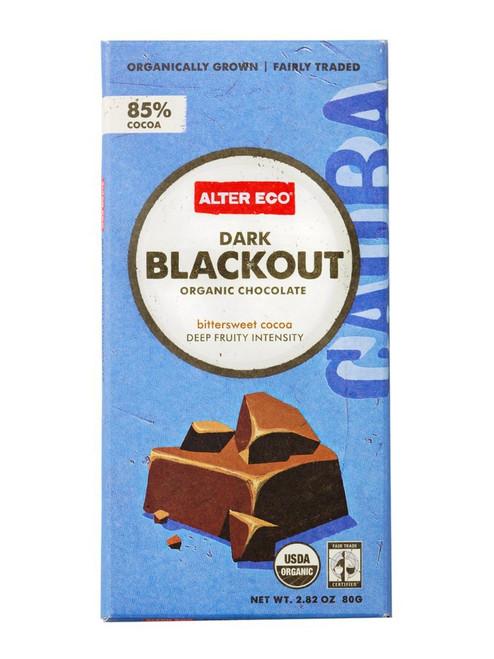 Alter Eco - Organic Chocolate Dark Blackout 85% Cocoa