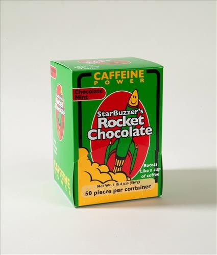 50 Count Mint Rocket Chocolate Box