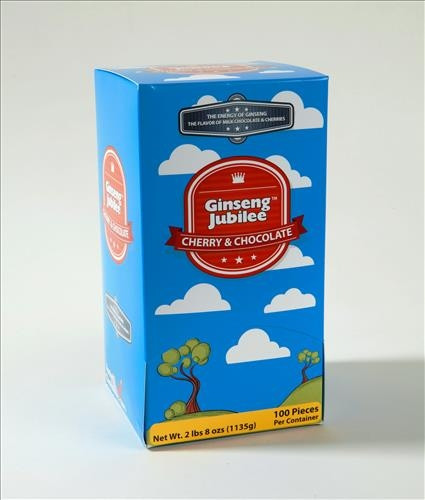 100 Count Ginseng Jubilee Chocolate Box
