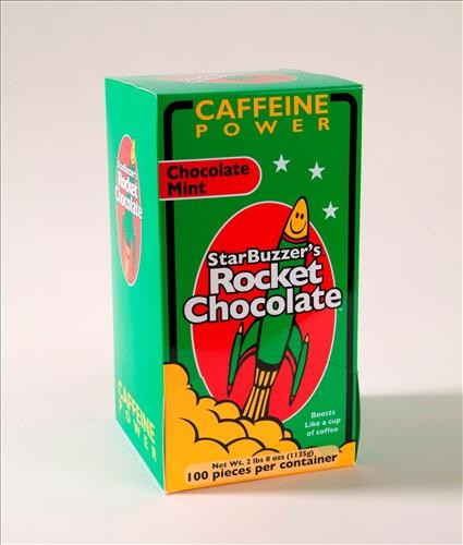100 Count Mint Rocket Chocolate Box
