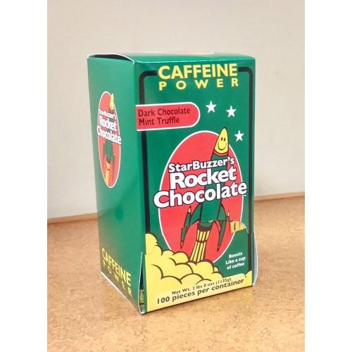 100 Count Dark Chocolate Mint Rocket Chocolate Box