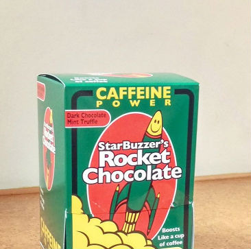 5 Count Dark Chocolate Mint Rocket Chocolate Box