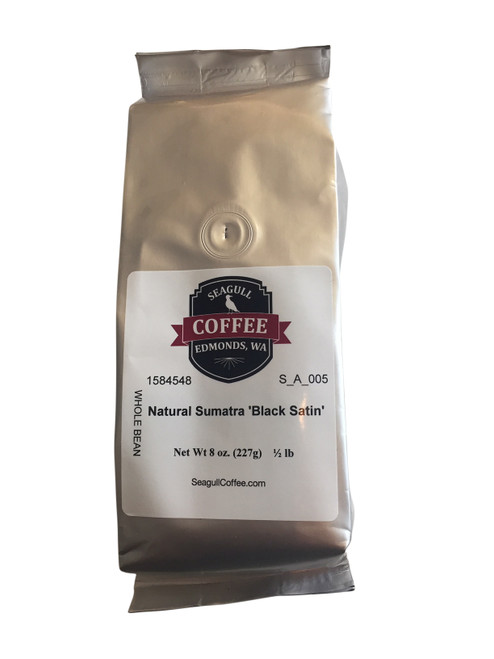 Ground, Sumatra Black Satin Coffee