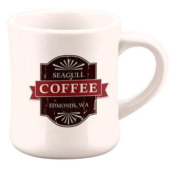 Seagull Coffee Edmonds, WA diner coffee mug