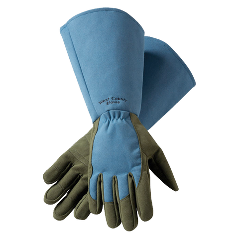 West County Gauntlet Gloves - Blue