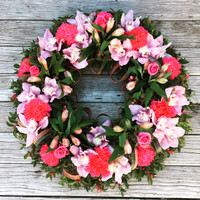 Devine Pink Wreath