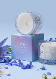 FLWR Candle Forget me not