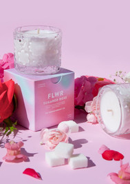 FLWR Candle Sugared Rose