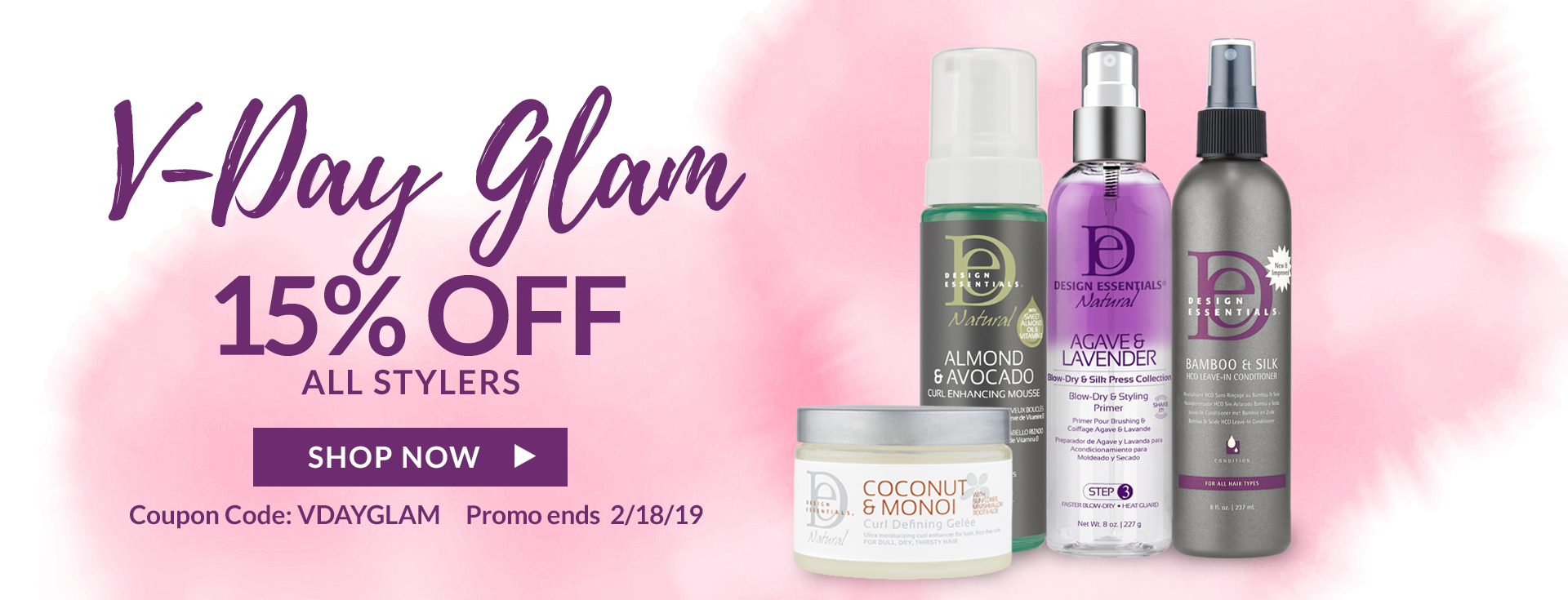 15% Off All Styling Products