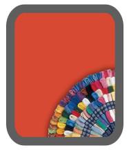 Bright Orange-Red #606