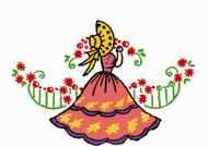 Aunt Martha's #3985 Southern Belle Motifs