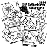 Aunt Martha's #3824 Kitchen Corner