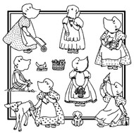 Aunt Martha's #3989 Bonnie Bonnet Too