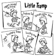 Aunt Martha's #3834 Little Tramp