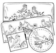 Aunt Martha's #3874 Cross Stitch Birds