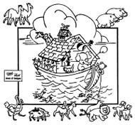 Aunt Martha's #3925 Noah's Ark