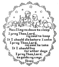 Aunt Martha's #3943 Child's Prayer