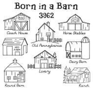 Aunt Martha's #3962 Born in a Barn