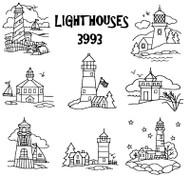 Aunt Martha's #3993 Lighthouses