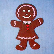 Uncle Bud's Yard Buddies #3020 Gingerbread Girl