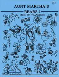 Aunt Martha's #358 Bears