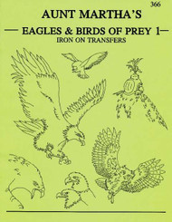 Aunt Martha's #366 Eagles & Birds of Prey