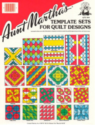 Template Set for Quilt Top Designs - 6 Pieces