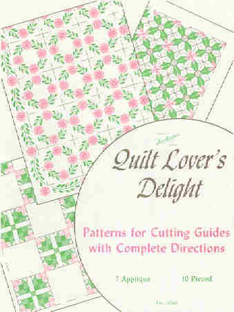 Quilt Lover's Delight Colonial Patterns Inc Unique Colonial Patterns