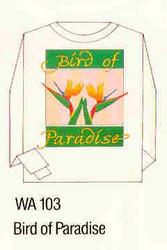 Birds of Paradise Iron-on Transfer Pattern
