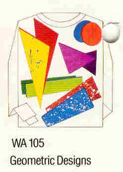 Geometric Designs Iron-on Transfer Pattern