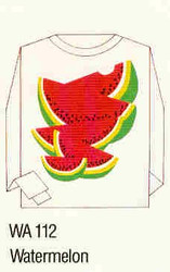 Watermelon Iron-on Transfer Pattern